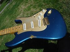 Fender Custom Shop 1956 56 Relic Stratocaster Lake Placid Blue Anodized Guard