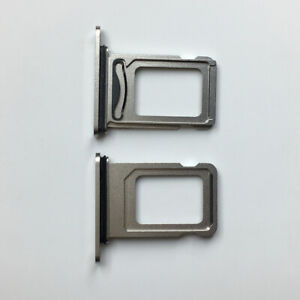 Golden New Dual SIM Tray Holder Card Slot Repair Parts For iPhone 12 Pro