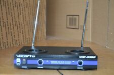 VocoPro VHF-3300 Dual Wireless Rechargeable Microphone System Base Unit Only