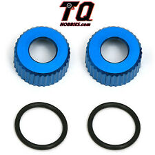Associated asc31327 Shock Bottom Caps VCS3 + O Rings (2) TC6 SC10 RC10B5M T4 B4