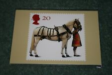 Royal Mail Stamp Cards. PHQ189 'All the Queen's Horses' 1997. Mint in Packet