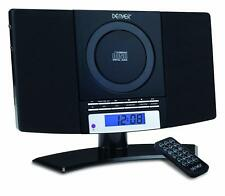 CD PLAYER W/ FM RADIO & AUX IN Stereo Wall Mountable Music System Remote Control