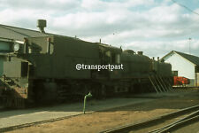 South African Steam Loco on Shed Original 35mm Photo Slide c/w copyright