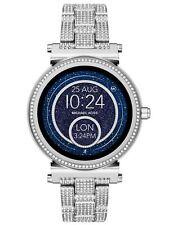 Sealed Michael Kors Access Sofie Silver Glitz Touchscreen Smart Watch MKT5024