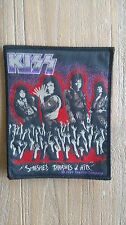 Kiss Smashes, Thrashes & Hits 1989 patch sew on music vintage rare