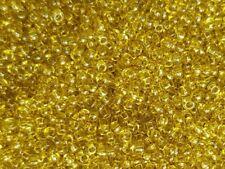 Preciosa-Rocaiilles 2 mm olive transp. 20 g