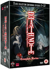 DEATH NOTE -Complete Series 37 Episodes Collection 9 Disc Box Set (NEW DVD)