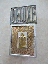 Original Toyota Crown Deluxe car badge