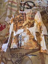 NEW RARE VINTAGE VIVIENNE WESTWOOD GOLD LABEL PACKAGE PRINT L/S T-SHIRT