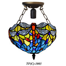 Antique Design TIFFANY Style Hand Crafted Ceiling Lamp Lights Shade Home Decor