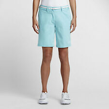 Nike Golf Women's Washed Bermuda Short Copa Blue Size 4, 803051-466