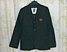 Abercrombie & Fitch Lake Arnold Mens 100% Italian Wool Blazer Jacket $400 NEW XL