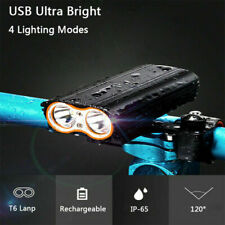 4400 Lumens USB Rechargeable Front Bike Light Bicycle Cycling Headlight Headlamp