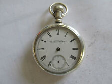 Fahys Coin Silver Pocket Watch Case New listing
