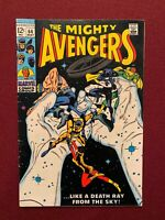 The Mighty Avengers #64 (May 1969, Marvel) FN-VF LIKE A DEATH RAY FROM THE SKY