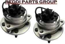 2 New Front Wheel Hub & Bearing Assemblies Fit Chevy Malibu Cobalt Pontiac G6