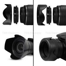58MM Lens Hood Reversible Petal Flower for Canon 18-55, 70-300, 75-300, 55-250