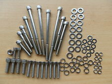 ROVER V8 MGB V8 CONVERSION SHORT WATER PUMP to SDI TIMING COVER Stainless BOLTS
