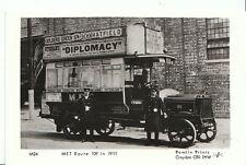 London Postcard - Motor Transport - Barnet Bus - Met Route 109 in 1911 - U531