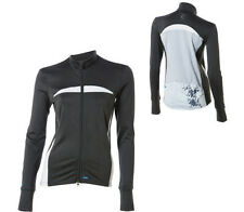 Luna Sport Eclipse Long Sleeve Women's Jersey Ebony XL New