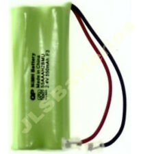 2 x CORDLESS PHONE BATTERIES iDect V2i 2.4V 550mAh Rechargeable Universal