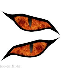 Monster Evil Eyes Vinyl Decal Stickers #27 Live Fire