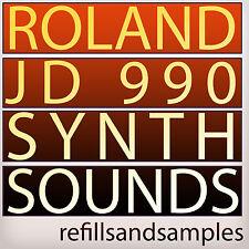 Roland JD 990 800 SAMPLES Akai Akp Reason Refill SYNTH SOUNDS Wav NNXT DVD
