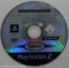 Jeu PRO EVOLUTION SOCCER 4 platinum pes 4 pour playstation 2 PS2 foot ball loose