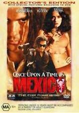 EX RENTAL ONCE UPON A TIME IN MEXICO DVD ANTONIO BANDERAS SALMA HAYEK GUARANTEED