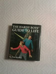 Rare Miniture Edition 2007 The Hardy Boys Guide to Life Paul Ruditis (bb2)