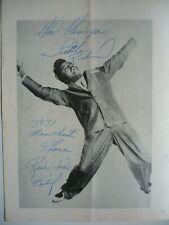 More details for little richard & duane eddy signed autograph 1963 cardiff concert programme