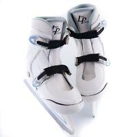 Kids Ice Skates Lake Placid Nitro 7.7 ADJUSTABLE Youth Sizes 2 3 4 White