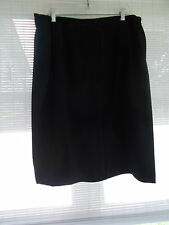 Tanjay Size 18 W Women's Black Business Suit Skirt New Without Tags
