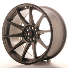 Japan Racing JR11 Alloy Wheel 18x9.5 - 4x114.3 / 4x108 - ET30 - Matt Bronze