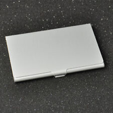 Stainless Steel Metal Aluminium Business ID Credit Card Holder Pocket Box Case