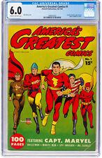 America's Greatest Comics #1 6.0 Fawcett 1941 Captain Marvel Capt H12 191 cm