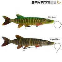 Savage Gear 4D Line Thru Perch Shad 23cm 168g Slow sinking Gummifisch FARBEN