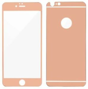 Luxury Colorful Tempered Glass Screen Protector for Apple iPhone 5 6 7 8 Plus