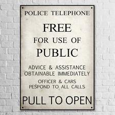 Kunstdruck Poster A3 Tardis Bild Gemälde Doctor Who Schild Sign Tür Blue Box