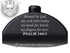 For Glock Gen 4 Grip Plug 17 19 22 23 24 32 34 35 38 BK AL6 Bible Psalm 144:1