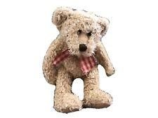 """12"""" RUSS BERRIE BEAR NAMED TOFFEE"""