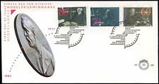 Netherlands 1991 Nobel Prize Winners FDC First Day Cover #C27986