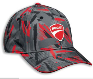 DUCATI Cap Patchwork 22 New Era  Kappe Mütze Basecap schwarz rot grau 987703953