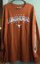 New listing Texas Longhorns Long Sleeve Graphic Shirt Sz L Authentic Longhorn Apparel NICE