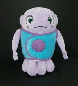 "Dreamworks HOME 17"" OH THE BOOV ALIEN Purple Plush Soft Stuffed Animal Pillow"