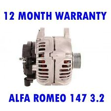 ALFA ROMEO 147 3.2 GTA HATCHBACK 2003 2004 2005 2006 - 2010 RMFD ALTERNATOR