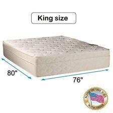 Beverly Hills Pillowtop Firm Foam Encased King Mattress Only with Mattress Cover