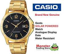 AUSTRALIAN SELLER CASIO MTP-VS02G-1ADF SOLAR POWERED WITH DATE 12 MONTH WARRANTY
