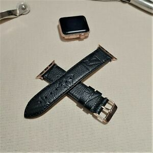 Handmade Louis Vuitton Apple watch band Series 6 5,4,3,2