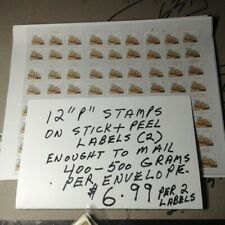 Canada Discount Postage. Cheap Stamps FOR  4-500 grams mailing..peel & stick.